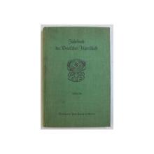 JAHRBUCH DER DEUTSCHEN JAGERSHAFT ( ANUARUL SOCIETATII GERMANE DE VANATOARE ) , EDITIE CU CARACTERE GOTICE , 1935 - 1936