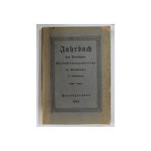 JAHRBUCH , DES DEUTSCHEN , VOLFSBILDUNGSVEREINS IN RUMANIEN , 3. FAHRGANG , 1913
