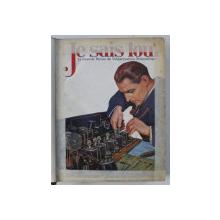 JE SAIS TOUT  - LA GRANDE REVUE DE VULGARISATION SCIENTIFIQUE , DECEMBRIE  1926 - AUGUST 1937 , COLEGAT *