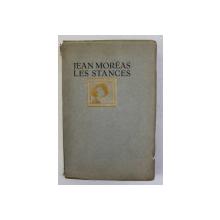 JEAN MOREAS - LES STANCES , gravuri pe lemn de BERNARD ESSERS , 1927 , EXEMPLAR 144 DIN 380
