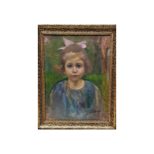 Jean Nitescu (1897-1957) - Portret de fetita