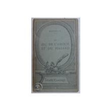 JEU DE  L' AMOUR  ET DU HASARD  - 1730 - comedie par MARIVAUX , 1922