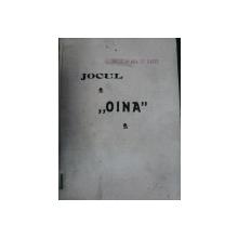 JOCUL OINA    -REGULAMENT PENTRU CONCURSURI GENERALE - C.D. GHEORGHIU
