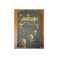 JOCURI PENTRU COPII SI TINERET  1956