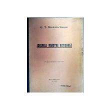 JOCURILE NOASTRE  NATIONALE de G.T. NICULESCU VARONE,Bucuresti 1933