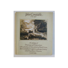 JOHN CONSTABLE 1776-1837 by REG GADNEY , 1976