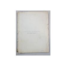 JORDELE NODUROASE de ION MIHAI, MANUSCRIS, 1958