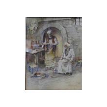 Josef Pankiewicz, Turci servind cafea