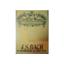 J.S. BACH 15 INVENTIUNI LA TREI VOCI PIANO SOLO , 1992