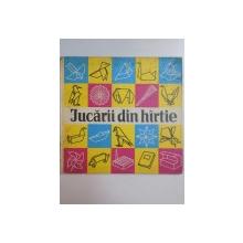 JUCARII DIN HARTIE , O COLECTIE DE LUCRARI DIN HARTIE INDOITA de JOACHIM SCHONHERR , 1979