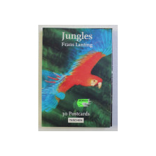 JUNGLES , 30 POSTCARDS , photographs by FRANS LANTING , 2000