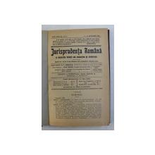 JURISPRUDENTA ROMANA A INALTEI CURTI DE CASATIE SI JUSTITIE , REVISTA , ANUL XXIII , COLEGAT DE 20 DE NUMERE SUCCESIVE ,  APARUTE INTRE  1 IANUARIE - 15 DECEMBRIE 1936
