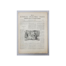 JURNAL PENTRU TOTI , PUBLICATIUNE ILUSTRATA A D. EMANUEL ARGHIROPOL , ANUL I , NO. 6 , 15 / 27  MARTIE ,  1868