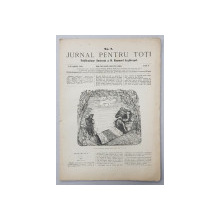JURNAL PENTRU TOTI , PUBLICATIUNE ILUSTRATA A D. EMANUEL ARGHIROPOL , ANUL I , NO. 7 , 1 / 13 APRILIE  1868