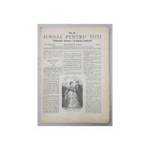 JURNAL PENTRU TOTI , PUBLICATIUNE ILUSTRATA A D. EMANUEL ARGHIROPOL , ANUL I , NO. 8 , 24 / 6 APRILIE 1868