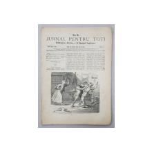 JURNAL PENTRU TOTI , PUBLICATIUNE ILUSTRATA A D. EMANUEL ARGHIROPOL , ANUL I , NO. 9 , 24 / 5   MAI ,  1868