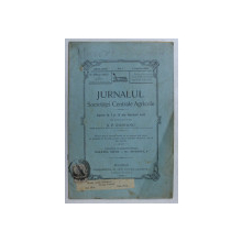 JURNALUL SOCIETATEI CENTRALE AGRICOLE , ANUL XIII , NO. 7 , 1 APRILIE , 1906