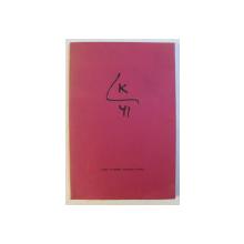KANDINSKY , CARNET DE DESSINS 1941 , texte de GAETAN PION , 1971