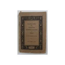 KATALOG DER KONIGLICHEN NATIONAL - GALERIE ZU BERLIN von MAX JORDAN , 1902