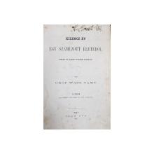 KILENCZ EV - EGY SZAMUZOTT ELETEBOL  , irta GROF WASS SAMU , II FOLYAM , 1862