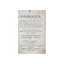 KONSTRUKTIUNE si Meditatiune asupra omului cadut, de Ieromonahul Anania Melega - Bucuresti, 1863, Colegat de 9 titluri