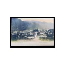 Kronstadt - Brasso, Panorama vom Schlossberg - Carte postala ilustrata