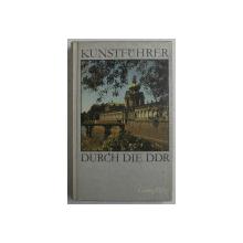 KUNSTFUHRER DURCH DIE DDR - GHIDUL  CULTURAL AL R.D.G. von  GEORG  PILTZ , 1985