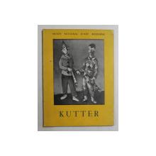 KUTTER  - EXPOSITION MUSEE NATIONAL D 'ART MODERNE PARIS , NOVEMBRE  - DECEMBRE 1951