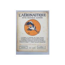 L ' AERONAUTIQUE - REVUE MENSUELLE ILLUSTREE, No. 63, August 1924