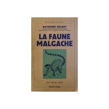 L AFAUNE MALGACHE  SON ROLE DANS LES CROYANCES ET LES USAGES INDIGENES  par RAYMOND DECARY , 1950
