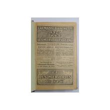 L 'ALMANACH HACHETTE 1925