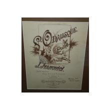 L. Odalisque, Polka - Mazurka pour piano par I. Ivanovici - Cromolitografie cca 1900
