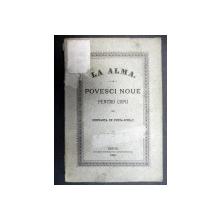 LA ALMA POVESCI NOUE PENTRU COPII  -CONSTANTA  DE DUNCA SCHIAU   -SIBIU  1881