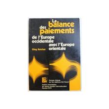 LA BALANCE DE PAIEMENTS DE L ' EUROPE OCCIDENTALE AVEC L ' EUROPE ORIENTALE par OLEG BETCHER , 1976