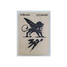 LA BIENNALE DI VENEZIA  - SETTORE ARTI VISIVE - CATALOGO GENERALE 1980