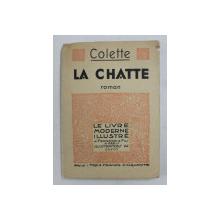 LA CHATTE - roman par COLETTE , illustrations de GUYOT , 1935