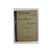 LA CLASSE EN ANGLAIS -  COMMENCANTS No. 1 par E. GOURIO , 1928