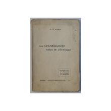 LA COOPERATION FLEUR DE L' EVANGILE par C.DRON , 1937 , DEDICATIE*
