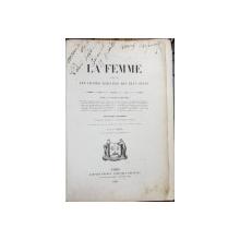 LA FEMME par L. -J. LARCHER - PARIS, 1854