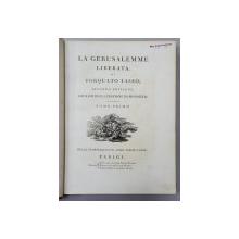 LA GERUSALEMME LIBERATA DI TORQUATO TASSO - PARIS, 1786