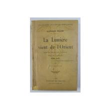 LA LUMIERE VIENT DE L 'ORIENT - ESAIS DE PSYCHOLOGIE JAPONAISE par LAFCADIO HEARN , 1911