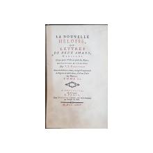 LA NOUVELLE HELOISE, OU LETTRES DE DEUX AMANS, HABITANS par J. J. ROUSSEAU, TOM II - PARIS, 1764