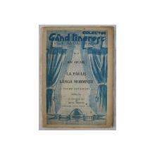 LA PAULIS LANGA MORMINTE  - POEME OSTASESTI de ION ARCASU , COLECTIA ' GAND TINERESC ' - LITERATURA - CULTURA - ARTA , NR. 2 , cu gravuri in text de SILVIU VENTURA  , 1945
