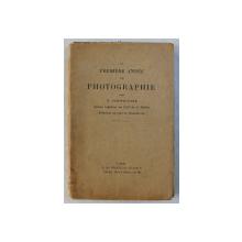 LA PREMIERE ANNEE DE POTOGRAPHIE par G. SCHWEITZER , 1929