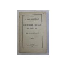 LA REFORME AGRAIRE EN ROUMANIE ET LES OPTANTS HONGROIS DE TRANSYLVANIE DEVANT LA SOCIETE DES NATIONS - SEANCE DU CONSEIL DU 7 MARS 1927