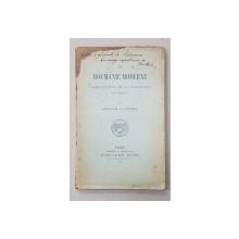 LA ROUMANIE MODERNE ... par ALEXANDRE A.C. STURDZA , 1902 * DEDICATIE