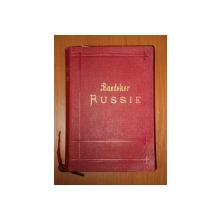 LA RUSSIE. MANUEL DU VOYAGEUR par K. BAEDEKER  1902