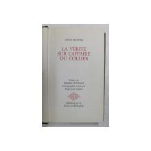LA VERITE SUR L 'AFFAIRE DU COLLIER par LOUIS HASTIER , 1971