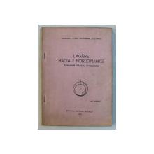 LAGARE RADIALE HIDRODINAMICE - INDRUMAR PENTRU PROIECTARE de M .D. PASCOVICI ...ST.ST. STANCIU , 1978