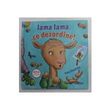 LAMA LAMA , CE DEZORDINE ! de ANNA DEWDNEY , 2020, MICI DEFECTE LA COTOR
